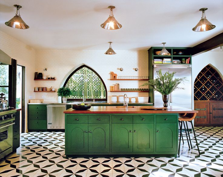 From country to contemporary, New York penthouse to French château, these are the most inspiring kitchens to grace the pages of Vogue