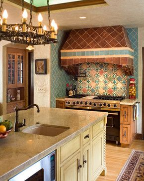 Spanish Colonial Kitchen Design _ the kitchen lady enriching homes with style kitchen bath designers