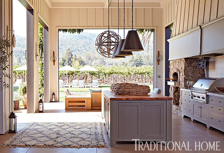 This Napa Valley retreat is an earthy escape for the large family of a high-profile San Francisco couple